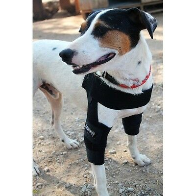 Black Ortocanis Canine/dog Elbow Orthosis Brace, Xs, S, M, & L