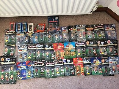 JOB LOT Corinthian Prostars Collection Boxed Figures 40 BLISTERS OLD FOOTBALL