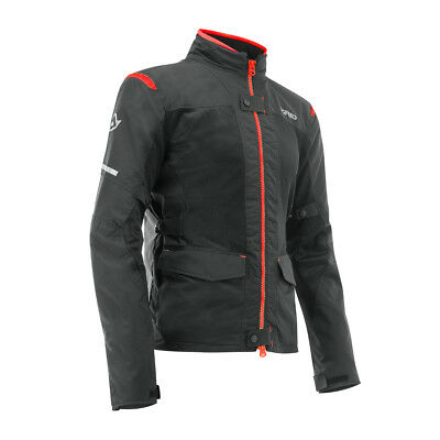 Acerbis Fahrerjacke Ramsey My Vented 2.0 Long Rot