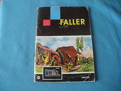 465 H Faller 1961/62 Catalogue 64 Pages Stamp Store Models Aircraft