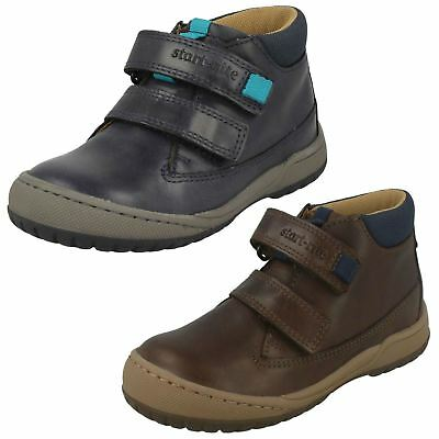 BOYS BROWN ANKLE BOOTS - START-RITE 1756-0 RRP £47.99