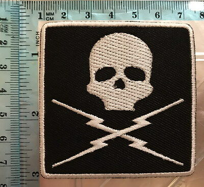 DEATH PROOF Quentin Tarantino Movie Logo embroidery Iron On Sew On Patch. n-59