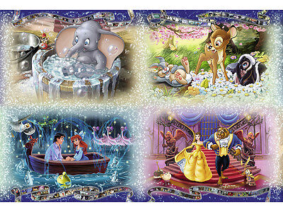 Assorted Disney Characters 4 Cross Stitch Chart