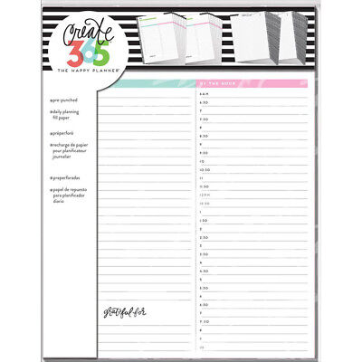 NEW Big Happy Planner Daily Sheets
