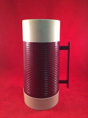 SEARS TED WILLIAMS 10oz WIDE MOUTH VACUUM ALADINN THERMOS #7303 Maroon