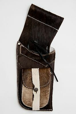 Calf Hide Hip Quiver Side Quiver for target hunting