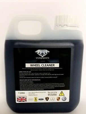 Stone White Strong Acid Alloy Wheel Cleaner For Cleaning Alloy Wheels