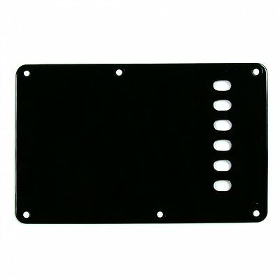 Guitar Tech Backplate for Strat - Black