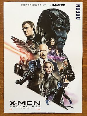 0.99p CLEARANCE SALE: X-Men Apocalypse Film Poster Ft Fassbender, Mcavoy +More