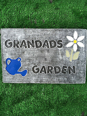 Fibreglass Case And Mould/ Wall Plaque Mould/ Grandads Garden