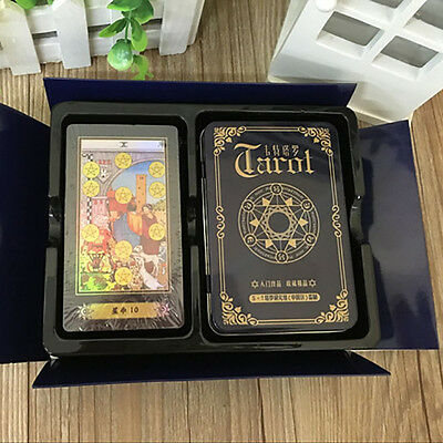 NEW TAROT-Waite-Tarot-Board-Game-78-PCS/Set-Shine-Cards-Game