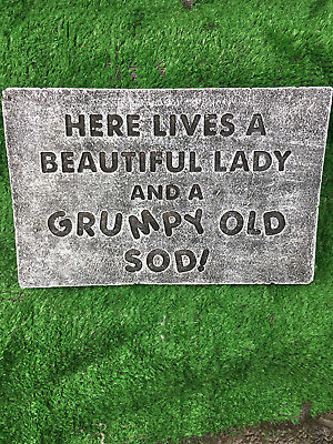Fibreglass Case And Mould/ Wall Plaque Mould/ Here Lives A Beautiful Lady And A