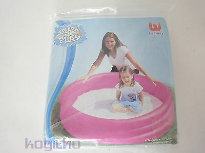 Bestway Paddling Pool 122 cm Splash and Play - Pink and Yellow New 51025