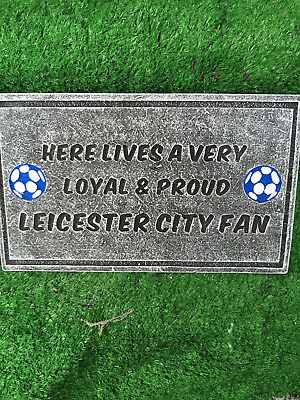 Fibreglass Case And Mould/ Wall Plaque Mould/ Leicester City Fc