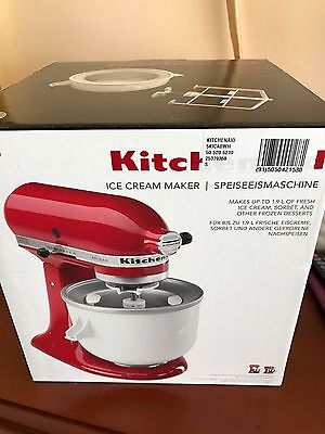 Kitchenaid Icecream Maker For Stand Mixers New In Box.