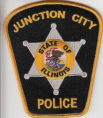 Junction City Illinois Il Police Patch