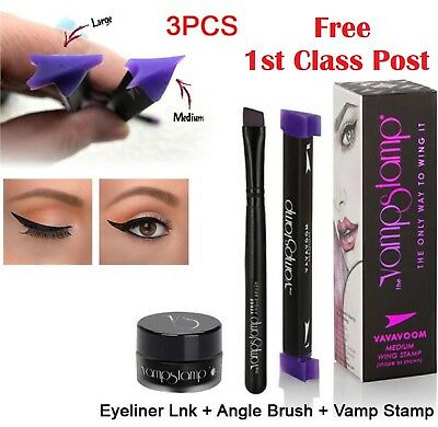 Vamp Stamp NEW Winged Wing Black Eyeliner The Vamp Fashion 2017 Make-Up Eye Line