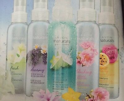 Avon Naturals Scented Spritz Room and Linen Spray - Various Fragrances Available