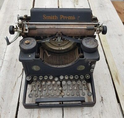 vintage smith premier typewriter