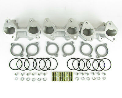 Mangoletsi triple DHLA DCOE carburettor manifold for BMW 2500/3000 6 cylinder