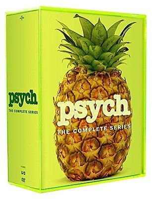 Psych: The Complete Series (DVD, 2014, 31-Disc Set) - USA SELLER