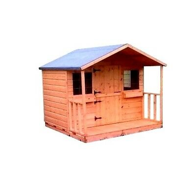 8x6 playhouse inc porch great christmas present idea