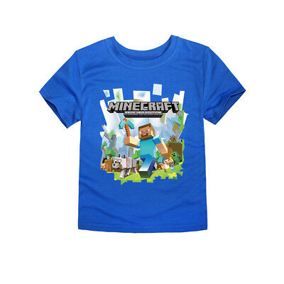 Minecraft  Kid's T-Shirt Size 6-14 AU Shop