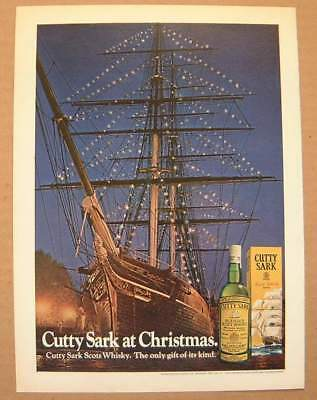 1972 Cutty Sark at Christmas / Sperry Univac Color AD