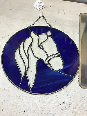 Stained Glass Beveled Horse