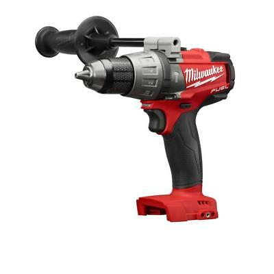 "Milwaukee 2704-20 M18 FUEL 18V Brushless 1/2"" Hammer Drill/Driver Tool-Only -NEW"