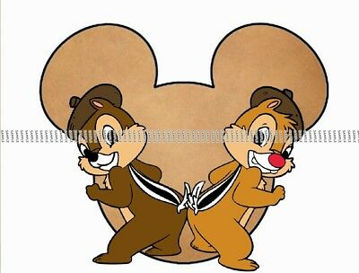 Disney Chip & Dale personalized iron on transfer (choice of 1)