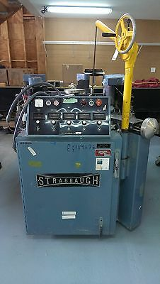 """Strasbaugh 6DH 36"""" Continuous Polisher Precision Optical Flat Glass"""