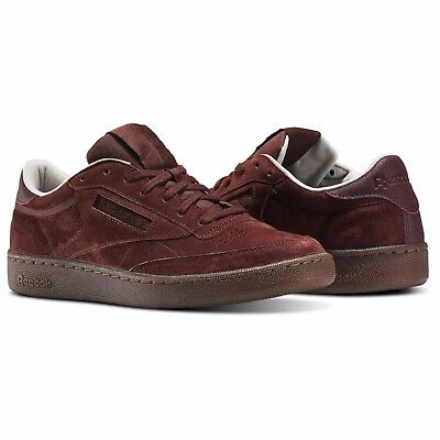 7d60bb9a3cb REEBOK MEN S CLUB C 85 G SUEDE Shoes Burnt Sienna Sand Stone BS5093 ...