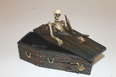 Skeleton Coffin Box, a Weird, Bizarre and Spooky Christmas Present or Gift