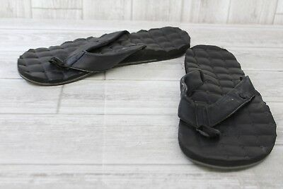 56c93ead4a5e Volcom Recliner Leather Quilted Flip Flops