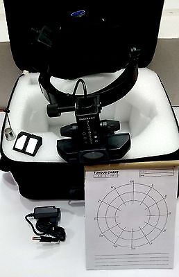 New Rechargeable Indirect Ophthalmoscope & Accessories Teaching Mirror Charger