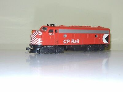 Athearn Powered F7 Canadian Pacific Cp Rail #1404 Engine Locomotive Ho Scale