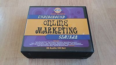 Yanik Silver's Underground Online Marketing Seminar - 32 Audio CD Set