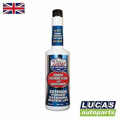 Power Steering Fluid with Conditioners 473ml 10442 LUCAS OIL