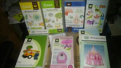 used cricut cartridges £10 Each
