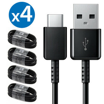 4x OEM Samsung Galaxy S9 S9+ S8 S8 Plus Note 8 9 Fast Charging USB Type-C Cable