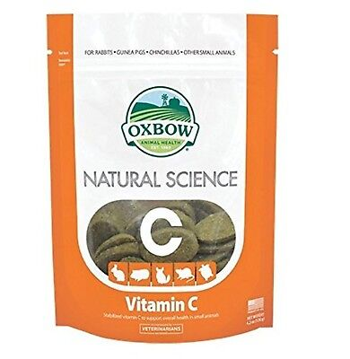 OXBOW Natural Science Vitamin C Supplement 60 Count New