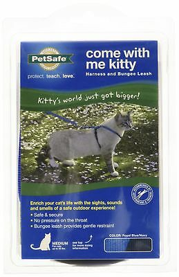 Premier Pet Come with me Kitty Harness Medium Royal Blue New