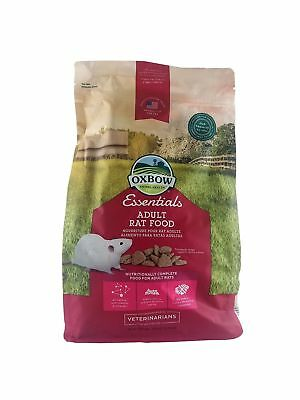 OXBOW Regal Rat Food 3 Pound  Bag New