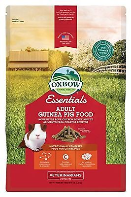 OXBOW 1022050500 Essentials Adult Guinea PIG Food 5-Pound Bag New