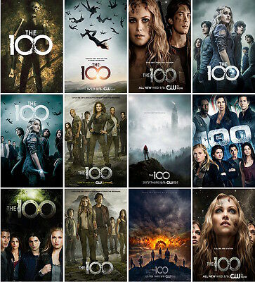 12 postcards of  The 100  TV series  sci-fi moive The Hundred   Eliza Taylor new