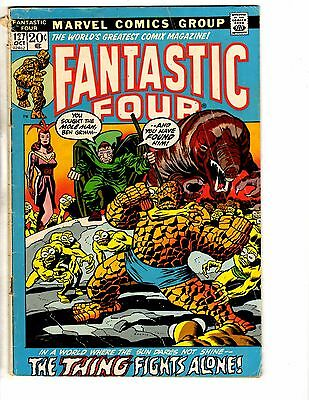 Lot Of 4 Fantastic Four Marvel Comic Books # 127 128 129 132 Human Torch NP2
