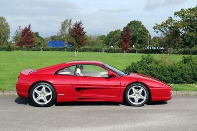 1996 Ferrari F355 Coupe 3.5 Berlinetta 6Spd Manual Petrol red Manual
