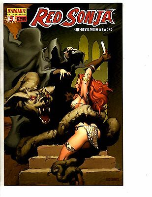 Lot Of 5 Red Sonja Dynamite Entertainment Comic Books # 5 6 7 8 9 She Devil RC1