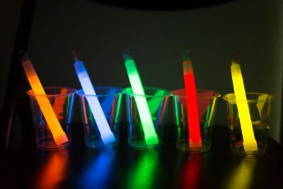 ChampionGlow 6in Glow Light Nacklaces Sticks Party Halloween, Camping, Wedding